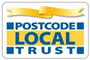 postcode local trust logo