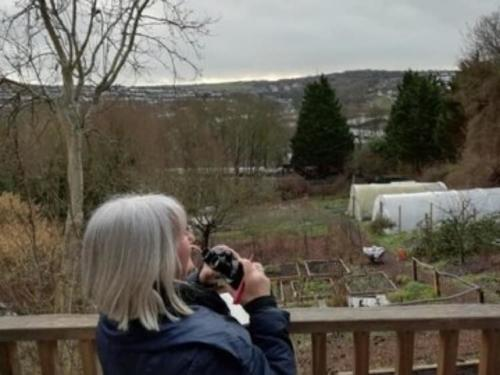 big garden birdwatch Susie