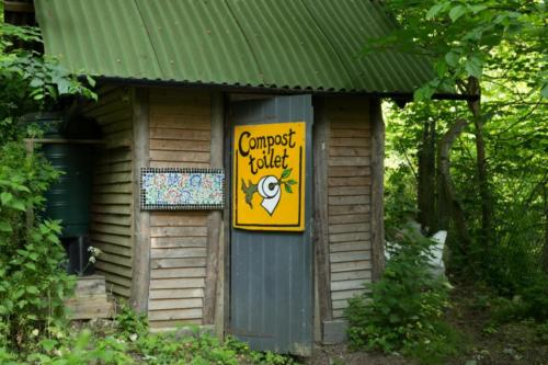 our compost toilet